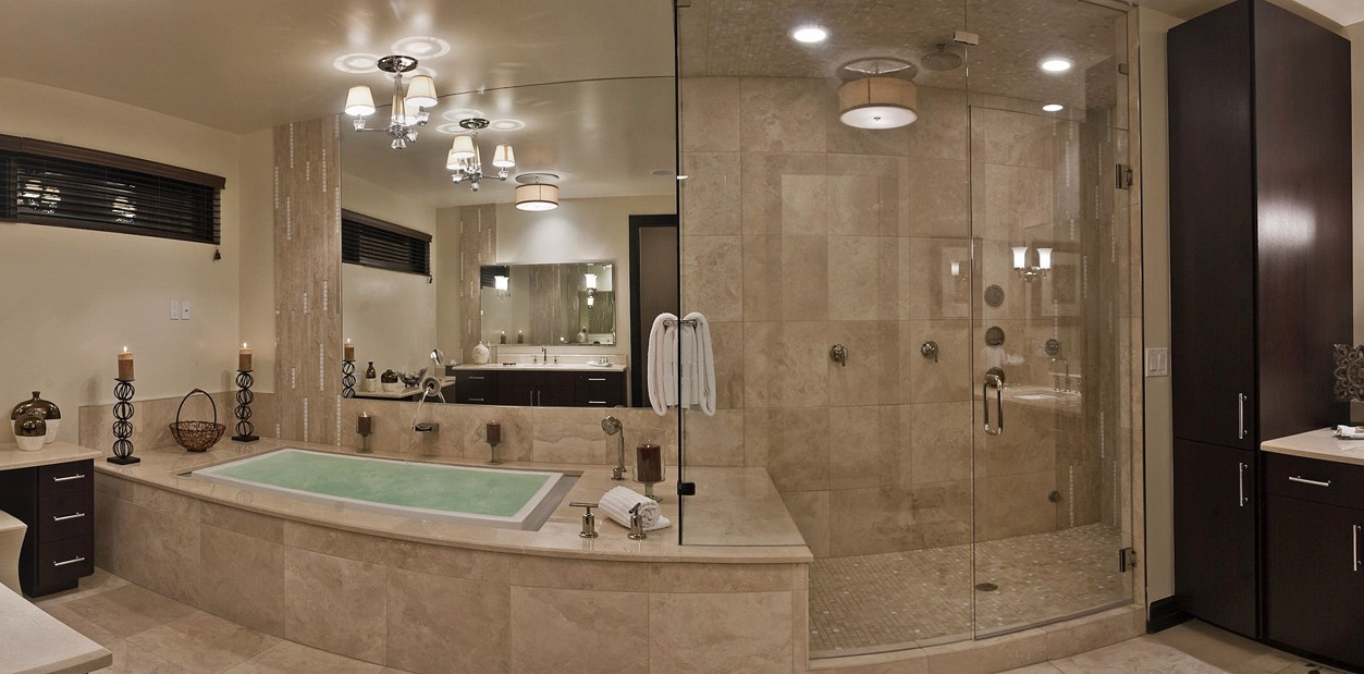 OTE Master Bathroom Pano Lights